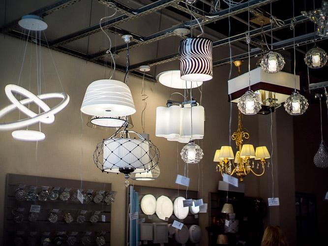 Открылся Салон светильников Санэнерджи в ТЦ Тивали-Мебель