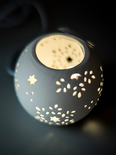 Декоративные настольные светильники